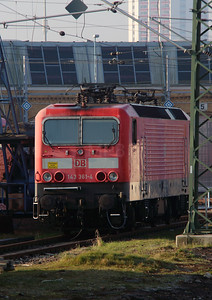 143 361 (91 80 6143 361-4 D-DB) at Leipzig Hbf Depot on 18th March 2016 (1)