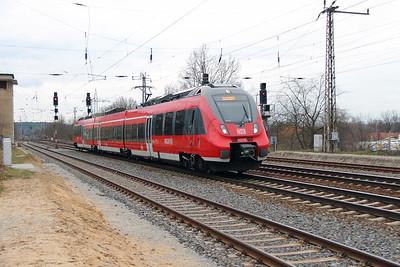 441 638 (94 80 0442 638-3 D-DB) at Saarmund on 15th March 2016 (1)