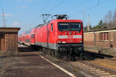 112 129 (91 80 6112 129-2 D-DB) at Hosena on 16th March 2016 (2)