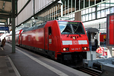 146 216 at Stuttgart HBF on 13th May 2014 working RE19045