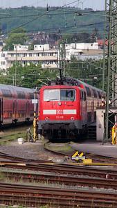 111 016 (91 80 6111 016-2 D-DB) at Aachen Hbf on 10th May 2016 (3)