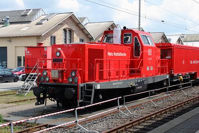 714 101 (99 80 9170 001-8 D-DB) at Fulda on 13th May 2016 (3)