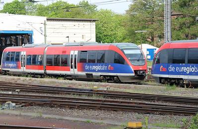 643 718 (95 80 0643 718-9 D-DB) at Aachen Hbf on 18th May 2016