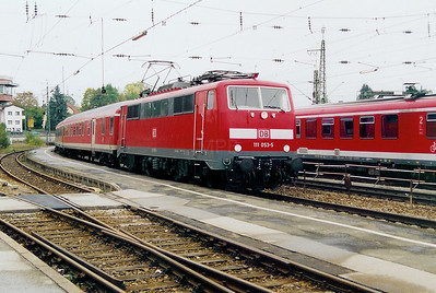 111 053 at Traunstein on 12th October 2003