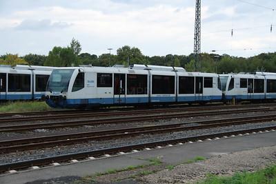 Rurtalbahn, 6 012 1 (95 80 0654 012-3 D-RTB) at Duren on 6th October 2014 (2)