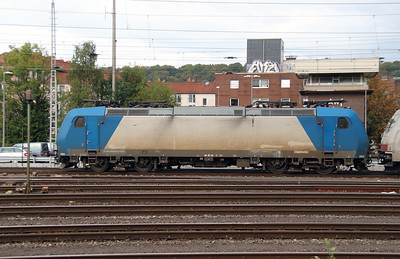 Crossrail, 185 535 (91 80 6185 535-2 D-XRAIL) at Aachen West on 6th October 2014