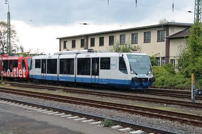 Rurtalbahn, 6 016 1 (95 80 0654 016-4 D-RTB) at Duren on 6th October 2014 (2)