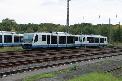 Rurtalbahn, 6 012 1 (95 80 0654 012-3 D-RTB) at Duren on 6th October 2014 (1)