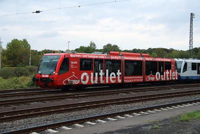 Rurtalbahn, 6 005 1 (95 80 0654 005-7 D-RTB) at Duren on 6th October 2014 (2)