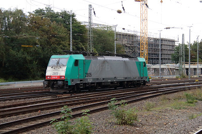 SNCB, 2805 (91 88 7186 197-0 B-B) at Aachen West on 6th October 2014 (3)