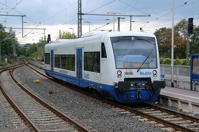Rurtalbahn, VT742 (95 80 0650 742-9 D-RTB) at Duren on 6th October 2014