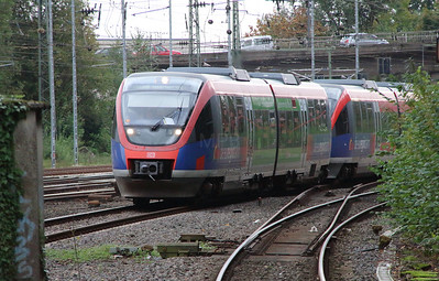 643 202 (95 80 0643 202-4 D-DB) at Aachen West on 6th October 2014