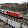 101 017 (91 80 6101 017-2 D-DB) at Osnabruck HBF on 17th March 2017 (1)