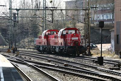 261 096 (92 80 1261 096-2 D-DB) at Hamburg Harburg on 22nd March 2017
