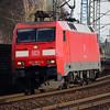 152 067 (91 80 6152 067-5 D-DB) at Hamburg Harburg on 21st March 2016 (2)