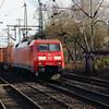 152 076 (91 80 6152 076-6 D-DB) at Hamburg Harburg on 21st March 2016 (2)