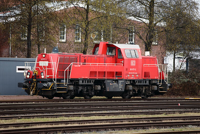261 077 (92 80 1261 077-2 D-DB) at Itzehoe on 20th March 2017 (1)