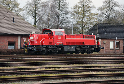 261 040 (92 80 1261 040-0 D-DB) at Itzehoe on 20th March 2017