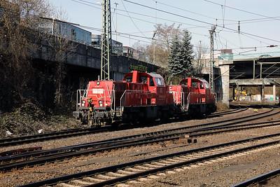 261 091 (92 80 1261 091-3 D-DB) at Hamburg Harburg on 22nd March 2017 (1)