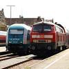 218 496 (92 80 1218 496-8 D-DB) at Lindau HBF on 12th May 2017 (2)