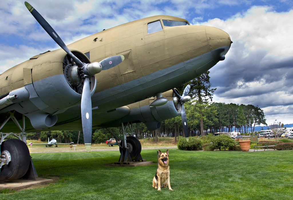 WITH DC-3 IN OREGON