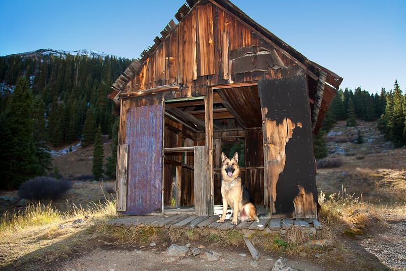 DESERTED MINING CAMP NEAR SILVERTON, CO