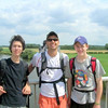 Ruven Durkee, Sam Routhier, Tom Dils<br /> With Ruven and Tommy on our hike
