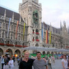 Mike Hedlund, Sam Routhier <br /> With Mike at the Munich Town Hall