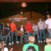"Willie Trieber, Charlie Shepass Soderstrom, Kyle Aldrich, Mike Hedlund, Andrew Gruseke, Matthew Wojciechowicz, Tom Dils, Sam Routhier <br /> <br /> The Camp Dudley group performs ""Baby One More Time"" at the Abbensen Talent Show"