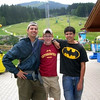 Sam Routhier, Tom Dils, Andrew Gruseke<br /> At the bobsled run with two of my boys