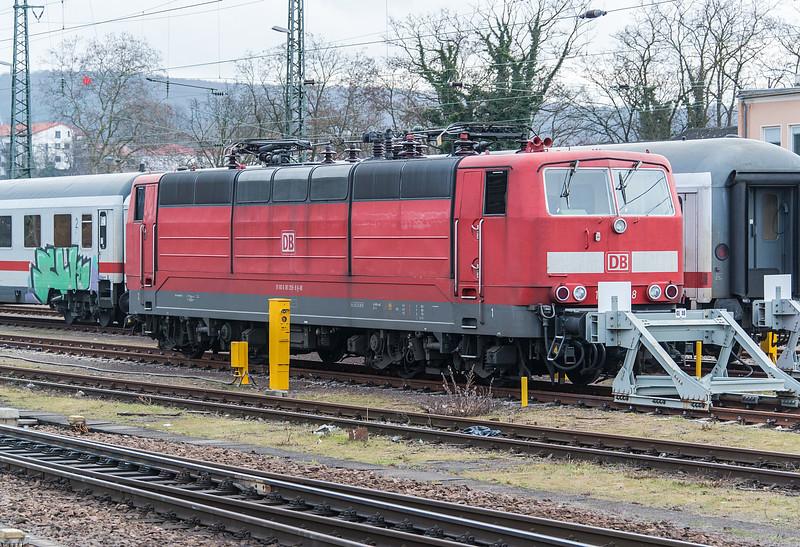 DB 181-209 Saarbrucken Hbf. 26 February 2015