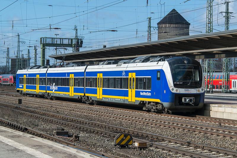 NWB 440-337 Bremen Hbf.  20 March 2016