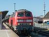 DB 218-363 + 218-381 Westerland