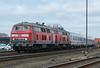 DB 218-315 + 218-313 Niebull