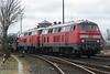 DB 218-386 + 218-376 Niebull