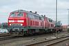 DB 218-345 + 218-340 Niebull