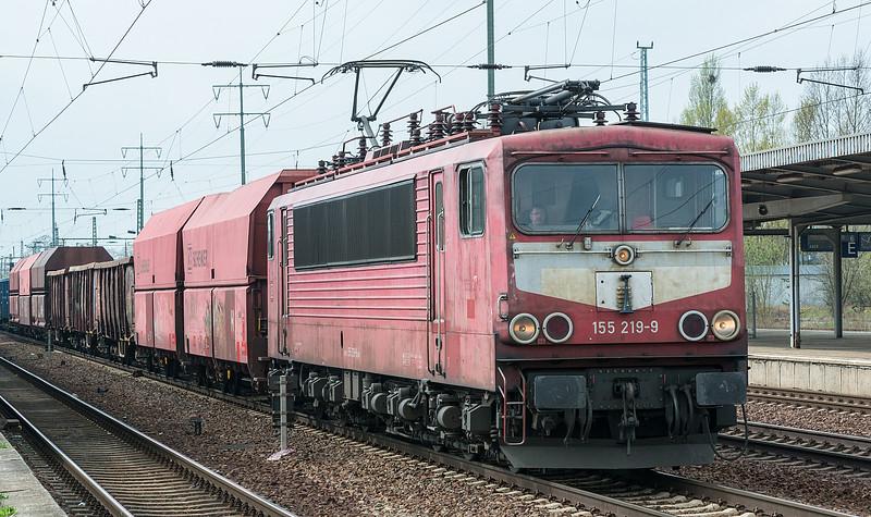 DB 155-219 Berlin Schonefeld 5 April 2017