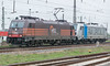 HSL 185-599 + RailPool 187-307 Grosskorbetha 3 April 2017