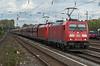 DB 185-354 + 185-216 Dusseldorf Rath 13 October 2017