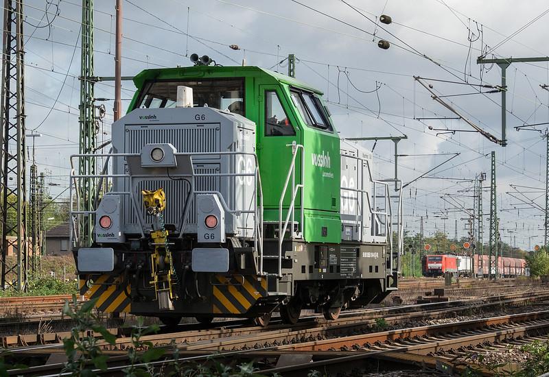 Vossloh 0650-104 Obehausen West 12 October 2017