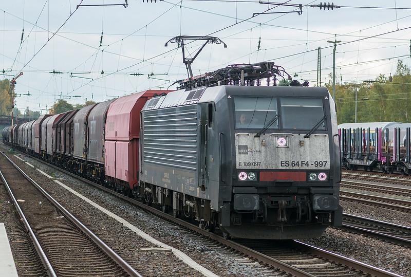 MRCE ES64 F4-997 Dusseldorf Rath 13 October 2017