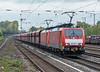DB 189-047 + 189-038 Dusseldorf Rath 11 October 2017
