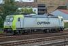 Captrain 185-503 Dusseldorf Rath 11 October 2017