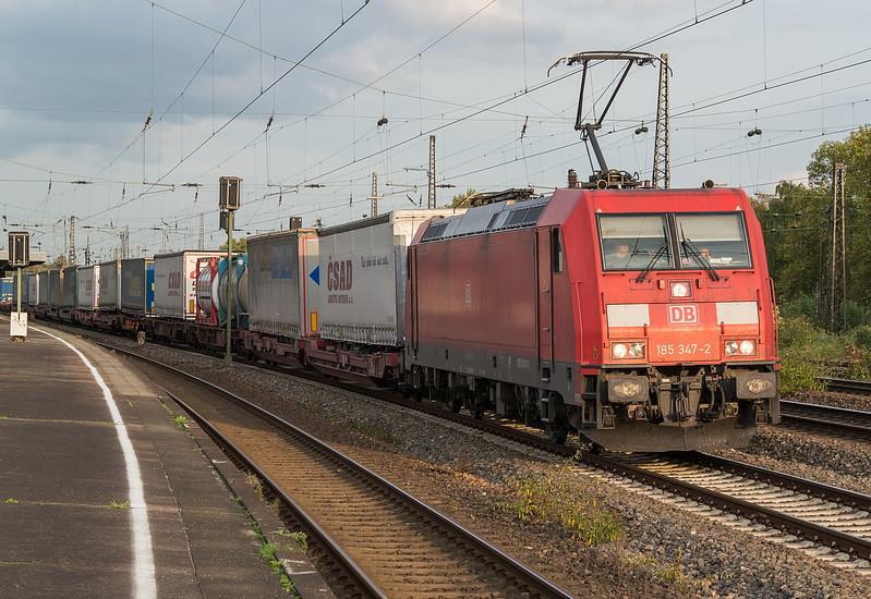 DB 185-347 Oberhausen Osterfeld Sud 12 October 2017