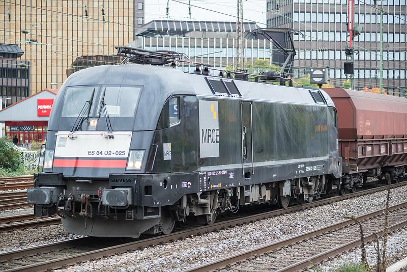 MRCE ES64 U2-025 Dusseldorf Rath 11 October 2017