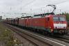DB 189-032 + 189-040 Dusseldorf Rath 13 October 2017