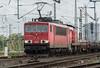 DB 155-201 + 294-845 Obehausen West 12 October 2017