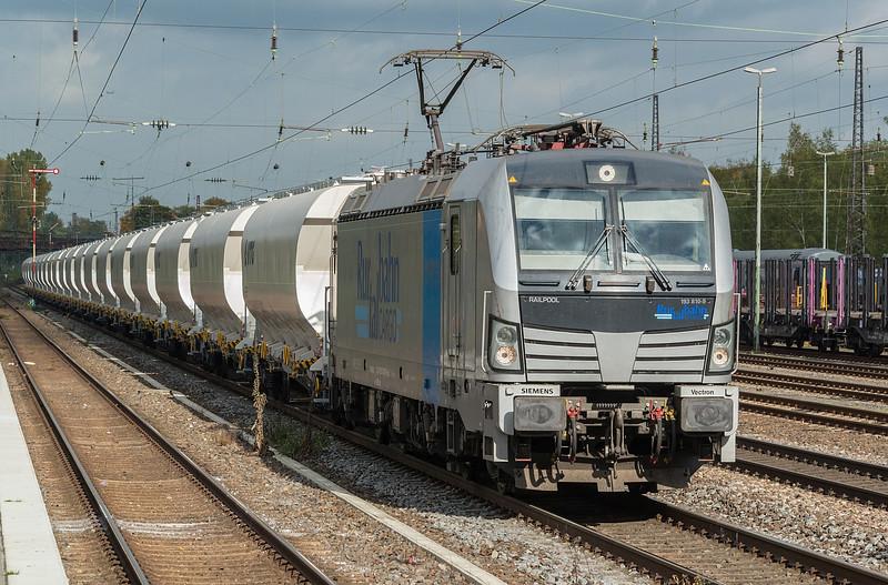 RailPool 193-810 Dusseldorf Rath 13 October 2017