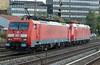 DB 189-007 + 195-004 Dusseldorf Rath 13 October 2017