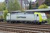 Captrain 185-550 Dusseldorf Rath 13 October 2017